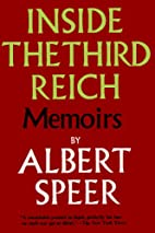 INSIDE THE THIRD REICH Memoirs by Albert…