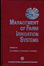 Management of farm irrigation systems by…