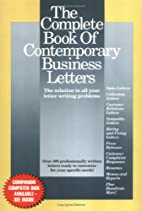 The Complete Book of Contemporary Business…