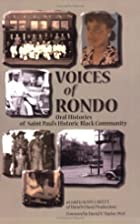 Voices of Rondo: Oral Histories of Saint…