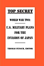 World War Two: U.S. Military Plans for the…