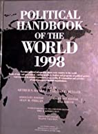 Political Handbook of the World 1998 by…