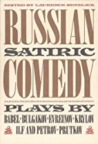 Russian Satiric Comedy (PAJ Books) by…