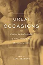 Great Occasions by Carl Seaburg