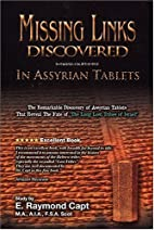Missing links discovered in assyrian tablets…