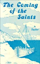 The coming of the saints: Imaginations and…