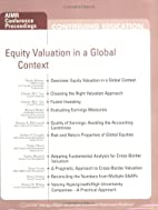 Equity Valuation in a Global Context by…