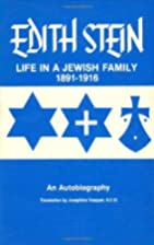 Life in a Jewish Family: Her Unfinished…