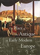 The Place of the Antique in Early Modern…