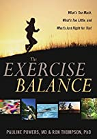 The Exercise Balance: What's Too Much,…