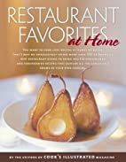 Restaurant Favorites at Home: A Best Recipe…