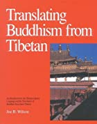 Translating Buddhism from Tibetan by Joe…