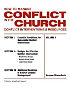 How To Manage Conflict in the Church,…