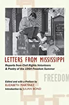 Letters from Mississippi by Elizabeth…