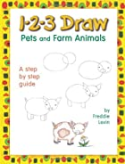 1-2-3 Draw Pets and Farm Animals (123 Draw)…