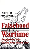 Ponsonby, Arthur: Falsehood in Wartime: Propaganda Lies of the First World War