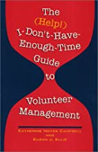 The (Help!) I-Don't-Have-Enough-Time Guide…