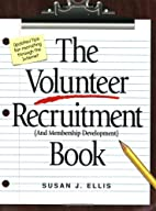 The Volunteer Recruitment (and Membership…