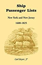 Ship Passenger Lists: New York and New…