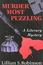 Murder Most Puzzling: A Literary Mystery by…