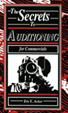 Secrets to Auditioning for Commercials 4-4-0…
