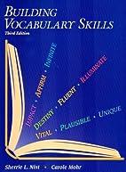 Building Vocabulary Skills by Carole Mohr