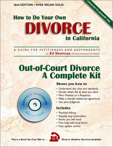how-to-do-your-own-divorce-in-california-with-cdrom