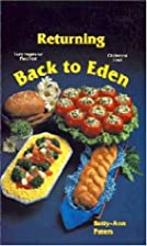 Returning Back to Eden by Betty Ann Peters