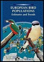 European Bird Populations: Estimates and…