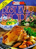 Best ever recipes by Maryanne Blacker