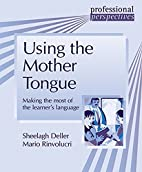 Using the Mother Tongue (Professional…
