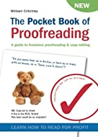 The Pocket Book of Proofreading: A Guide to…
