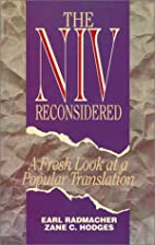 The NIV Reconsidered : A Fresh Look at a…