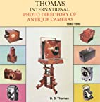 The Thomas International Photo Directory of…
