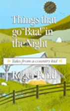 Things That Go Baa! in the Night: Tales…