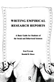 Pyrczak, Fred: Writing Empirical Research Reports