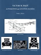 Victor W. Page: Automotive and Aviation…