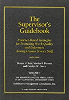The Supervisor's Guidebook: Evidence-Based…
