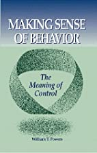 Making Sense of Behavior: The Meaning of…
