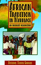 African Tradition in Marriage: An…