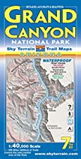 Grand Canyon Trail Map 3rd Edition by Kent…