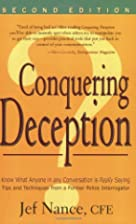 Conquering Deception by Jef Nance