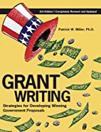 Grant Writing: Strategies for Developing…