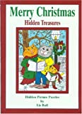 Ball, Liz: Merry Christmas Hidden Treasures: Hidden Picture Puzzles