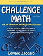 Challenge Math For the Elementary and Middle…