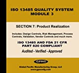 Global Pacific Manufacturing Group: ISO 13485 Quality System, Module #3