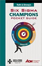 Rath & Strong's Six Sigma Champions Pocket…
