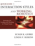 Quick Guide to Interaction Styles and…