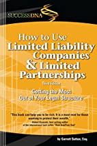 How to Use Limited Liability Companies &…