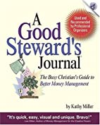 A Good Steward's Journal: The Busy…